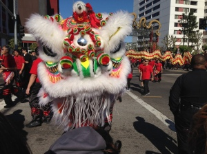 Golden Dragon Parade, 2/1/2014
