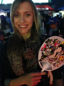 Thanks for the cool Tokidoki fan!