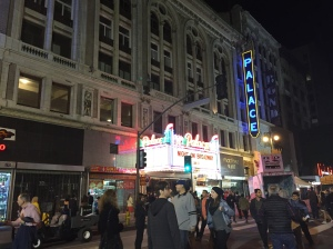 Marquee at the Palace Theater