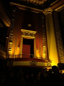 Balcony at the Globe Theater