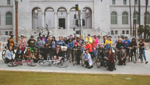 Photo by David Koo of the Women Bike, Women Lead ride in February, which was part of series that included the recent summit.