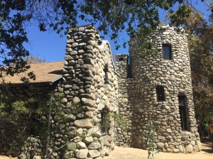 Exterior of the beautiful Lummis House, build nearly entirely by Charles Lummis.