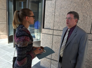 Metro Board Member and Duarte Councilmember John Fasana tells me that the Gold Line Extension is expected to provide relief to the congestion on the 210 freeway.