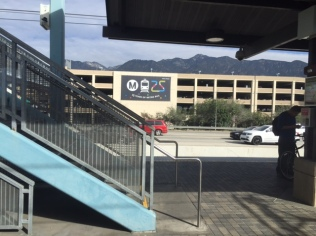 The Sierra Madre Villa Station--where the Gold Line used to end.
