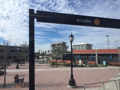 Beautifully-designed Arcadia Gold Line Station